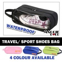 Shoes Bag Waterproof - Hot Pink